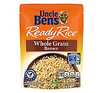 Uncle Bens Ready Rice Natural Whole Grain Brown Pouch - 8.8 Oz