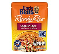 Uncle Bens Ready Rice Pouch Spanish Style - 8.8 Oz