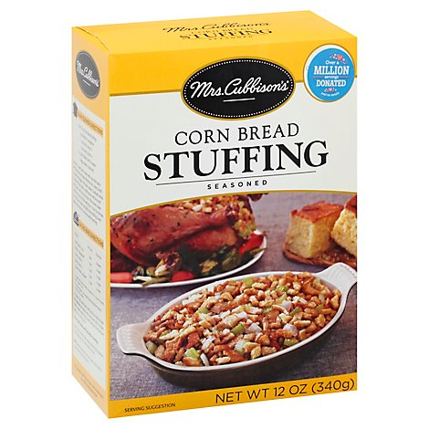 Mrs. Cubbisons Stuffing Seasoned Corn Bread Box - 12 Oz