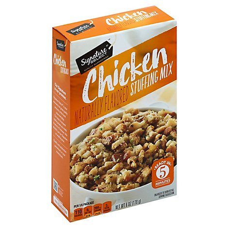 Signature SELECT Stuffing Mix Chicken Flavored Box - 6 Oz