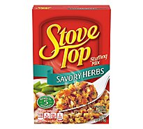 Stove Top Stuffing Mix Savory Herbs - 6 Oz
