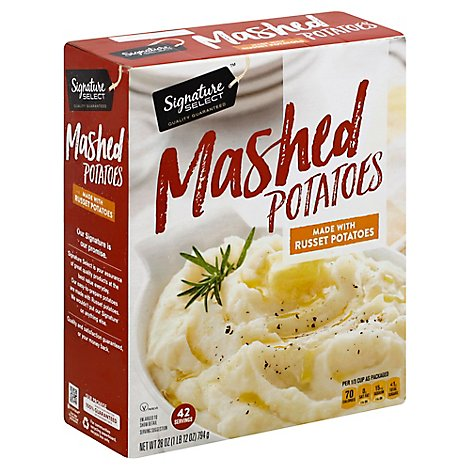 Signature SELECT Potatoes Mashed - 28 Oz