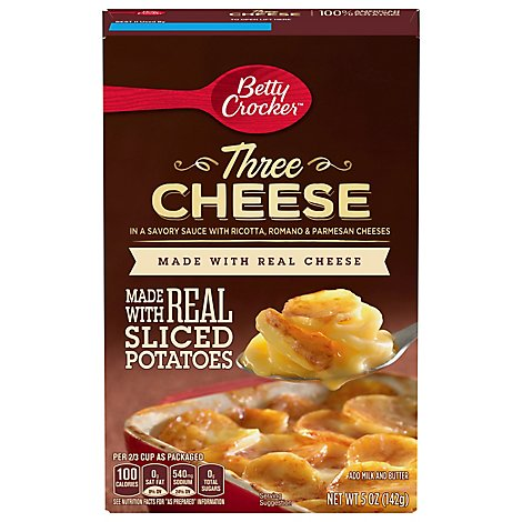 Betty Crocker Potatoes Three Cheese Box - 5 Oz