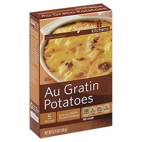 Signature Kitchens Au Gratin Potatoes Box - 5.25 Oz
