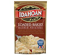 Idahoan Potatoes Mashed Loaded Baked Pouch - 4 Oz