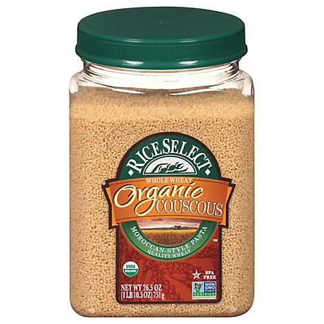 Rice Select Organic Couscous Whole Wheat - 26.5 Oz
