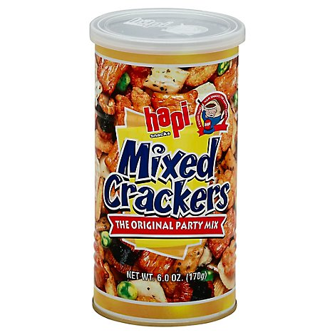 Hapi Mixed Crackers In A Can - 6.0 Oz