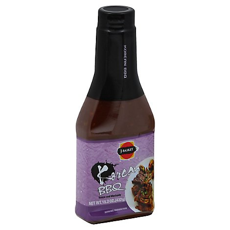 JES Marinade & Sauce Korean Bbq - 15.2 Oz