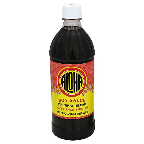 Aloha Specialty Food Shoyu - 24 Oz