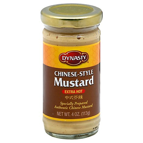 Dynasty Paste Mustard Very Hot - 4 Oz