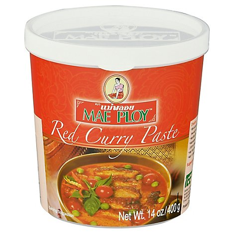 Mae Ploy Curry Paste Red - 14 Oz