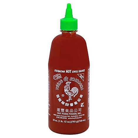 Huy Fong Chili Sauce Hot Sriracha - 28 Oz