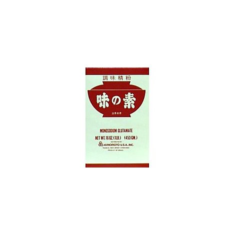 Ajinomoto Specialty Food MSG Carton - 16 Oz