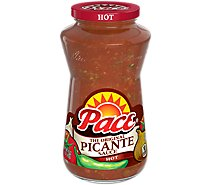 Pace Sauce Picante The Original Hot Jar - 16 Oz