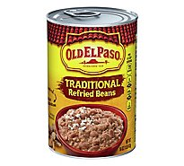 Old El Paso Beans Refried Traditional Can - 16 Oz