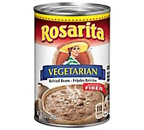 Rosarita Beans Refried Vegetarian Can - 16 Oz