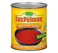 Las Palmas Sauce Red Chile Medium Can - 28 Oz