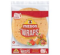 Mission Wraps Sun-Dried Tomato Basil Bag 6 Count - 15 Oz