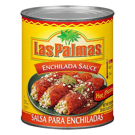 Las Palmas Sauce Enchilada Picante Hot Can - 28 Oz