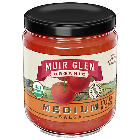 Muir Glen Organic Salsa Medium Jar - 16 Oz