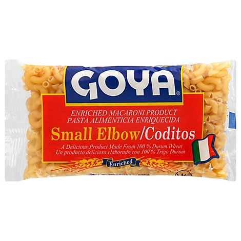 Goya Pasta Enriched Elbow Small Pack - 7 Oz