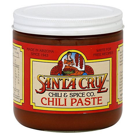 Santa Cruz Chili & Spice Co. Chili Paste Jar - 15 Oz