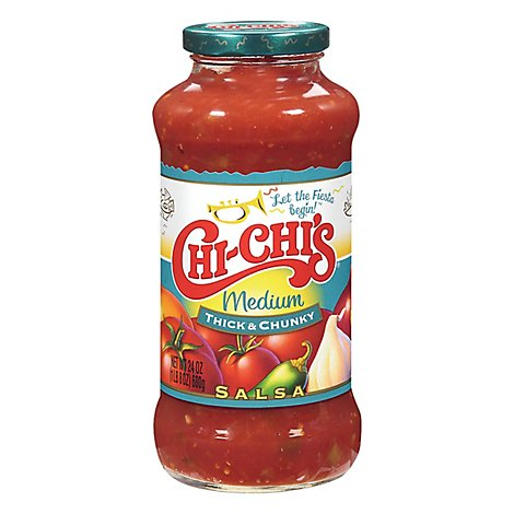 CHI-CHIS Salsa Thick & Chunky Medium Jar - 24 Oz