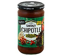 Signature SELECT Salsa Chipotle Medium Jar - 24 Oz