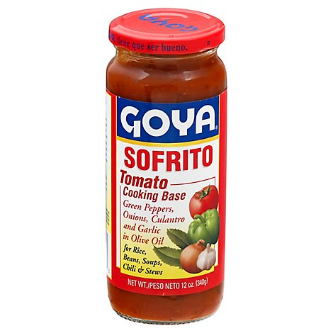 Goya Tomato Cooking Base Sofrito Jar - 12 Oz