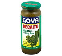 Goya Recaito Cooking Base Cilantro Jar - 12 Oz