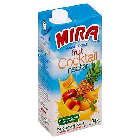 MIRA Fruit Nectar Fruit Cocktail Brick - 33.8 Fl. Oz.