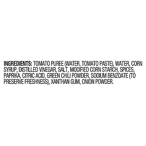 Ortega Taco Sauce Thick & Smooth Original Medium Bottle - 8 Oz