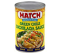 HATCH Sauce Enchilada Gluten Free Green Chile Medium Can - 15 Oz