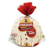 Mission Tortillas Flour Fajita Super Soft Bag 20 Count - 26 Oz