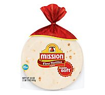 Mission Tortillas Flour Fajita Super Soft Bag 20 Count - 23 Oz