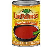 Las Palmas Sauce Red Chile Medium Can - 10 Oz