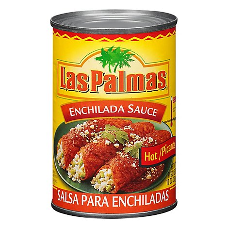 Las Palmas Sauce Enchilada Hot Can - 10 Oz