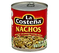 La Costena Jalapeno Nacho Slices Pickled Can - 26 Oz