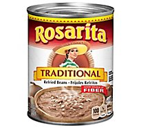Rosarita Beans Refried Traditional Can - 30 Oz