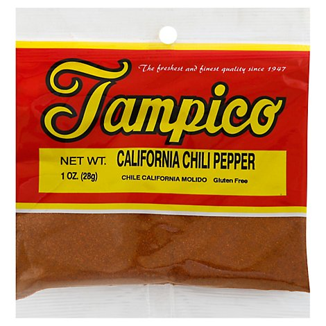 Tampico Spices Chile Pepper California - Oz