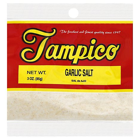 Tampico Spices Garlic Salt - 3 Oz