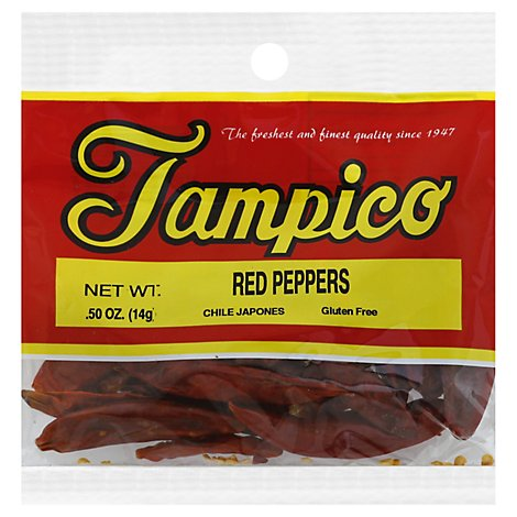 Tampico Spices Peppers Red - .5 Oz