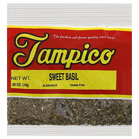 Tampico Spices Basil Sweet - .5 Oz