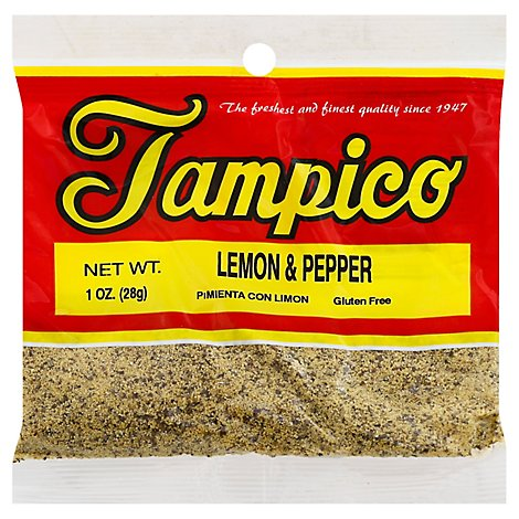 Tampico Spices Lemon And Pepper - Oz