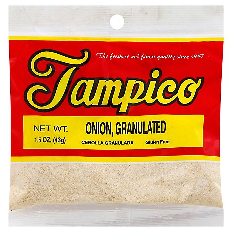 Tampico Spices Onion Granulated - 1.5 Oz
