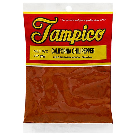 Tampico Spices Chile Pepper California - 3 Oz