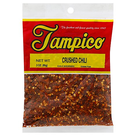 Tampico Spices Chiles Crushed - 3 Oz