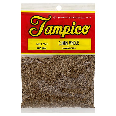 Tampico Spices Cumin Whole - 3 Oz