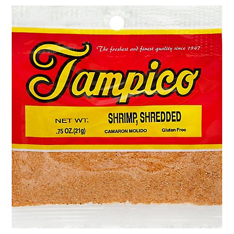 Tampico Spices Shrimp Shredded - .75 Oz