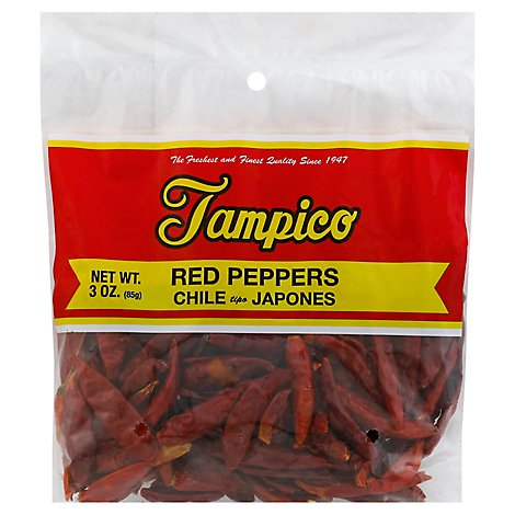 Tampico Spices Peppers Red - 3 Oz